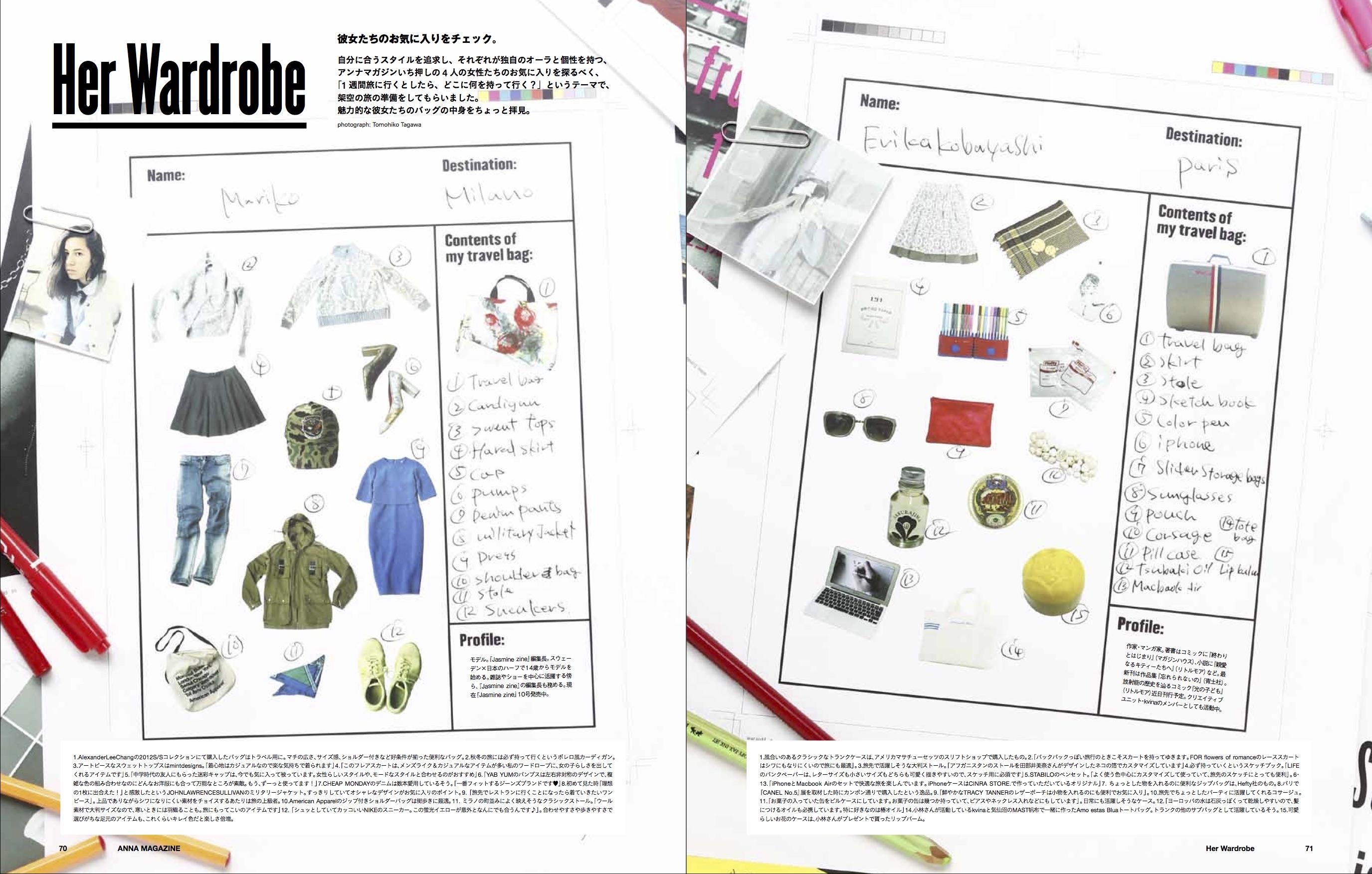 anna magazine Vol.1 P35